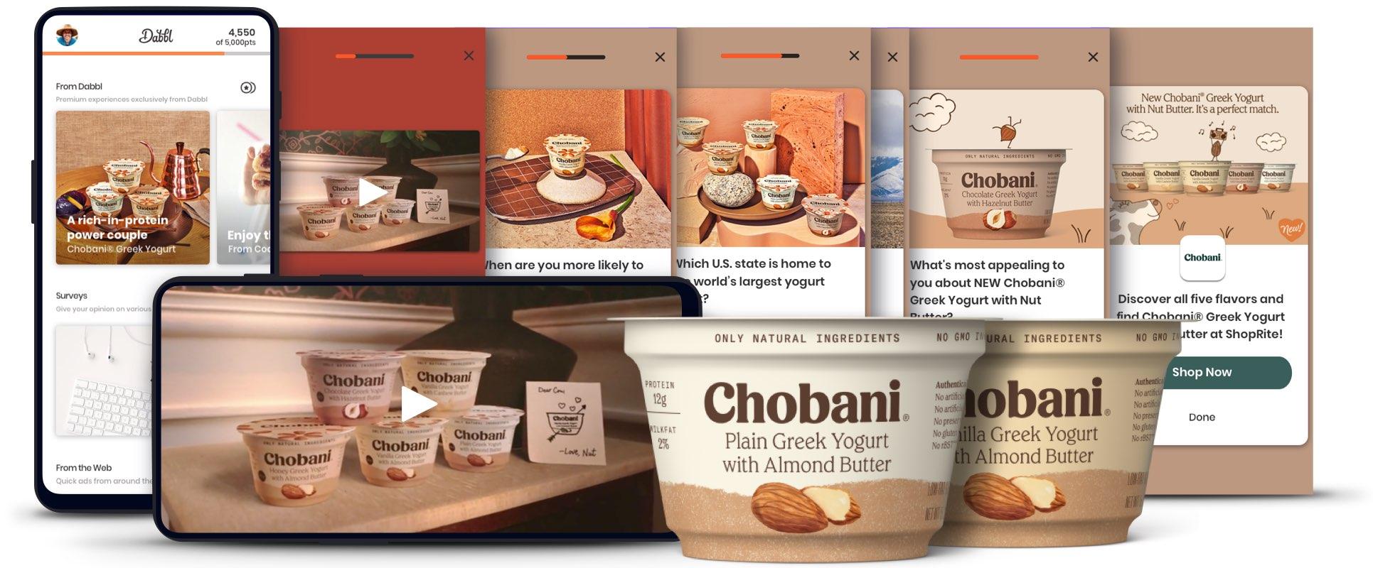 Chobani brand experience