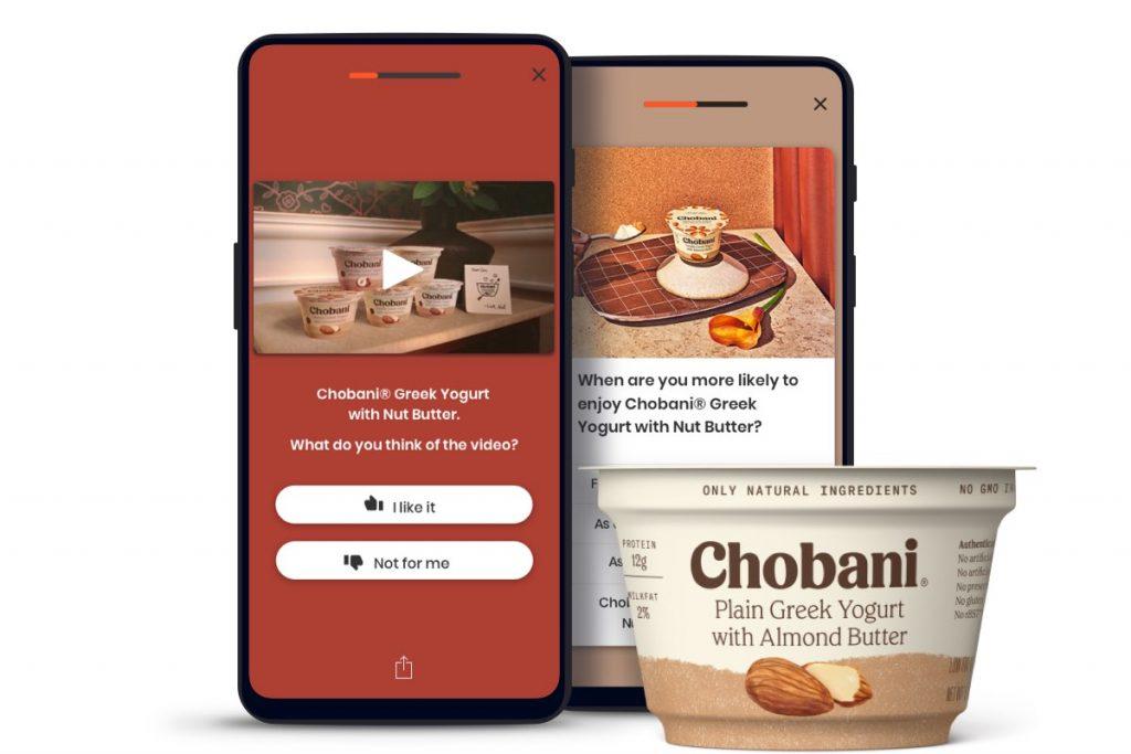 Chobani experience phones