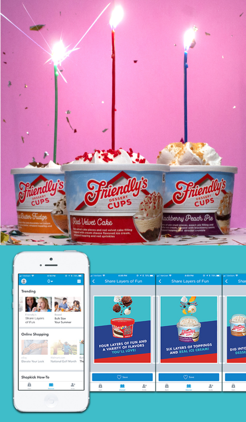 Shoptology shopper marketing campaign for Friendly's