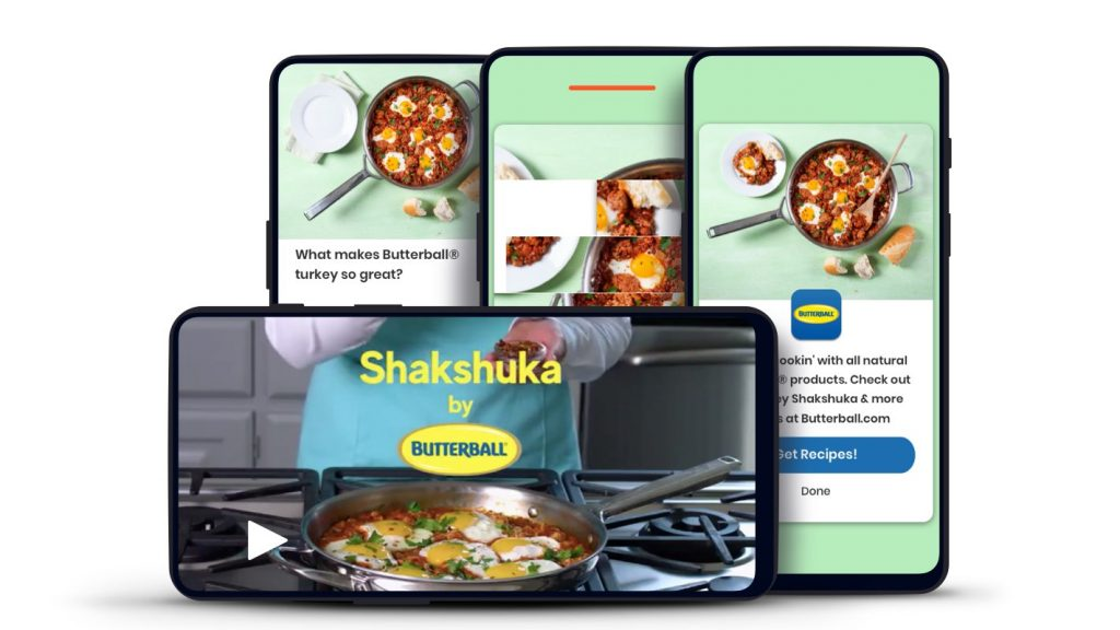 Butterball shopper marketing experience on Dabbl