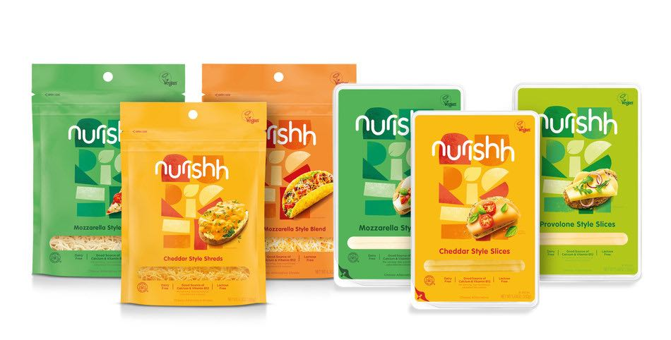 Bel Brands USA's Nurishh plant-based cheese