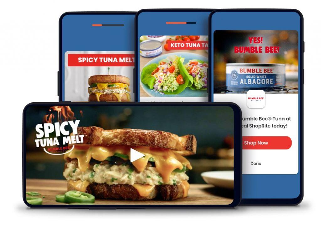 Bumble Bee Tuna brand experience on Dabbl