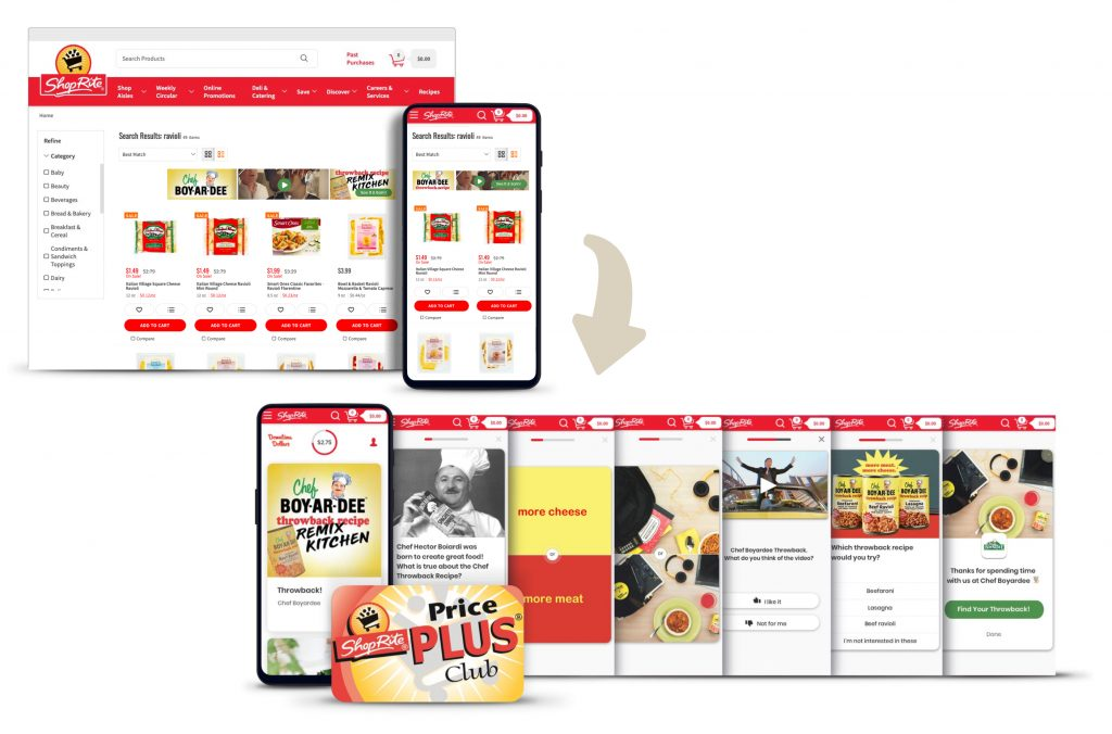 CitrusAd retail media ad to ShopRite's DowntimeDollars powered by Dabbl