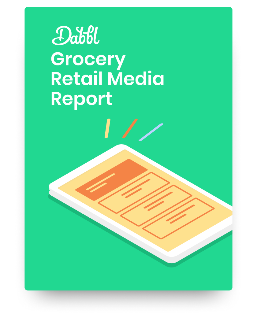Dabbl Grocery Retail Media Report cover