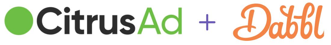 Dabbl partner CitrusAd retail media ad network